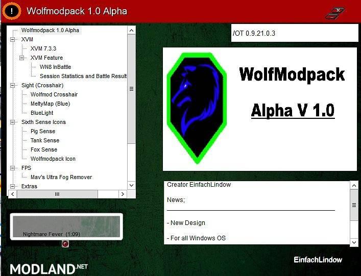 WolfModPack 1.1 ALPHA [9.22.0]